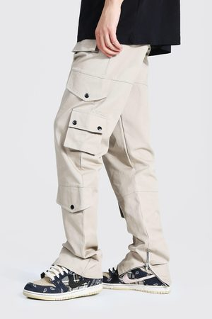 Boohoo Homme Cargos - Tall Relaxed Fit Twill Cargo Trouser Homme
