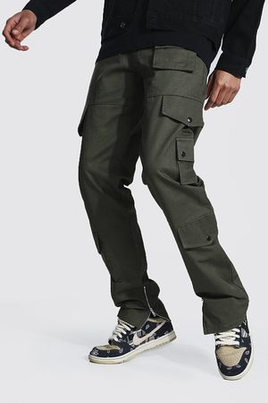 Boohoo Homme Cargos - Tall Fixed Relaxed Fit Twill Cargo Trouser Homme