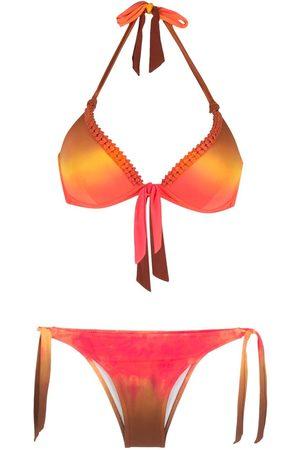 AMIR SLAMA Femme Bikinis - Bikini à imprimé tie dye