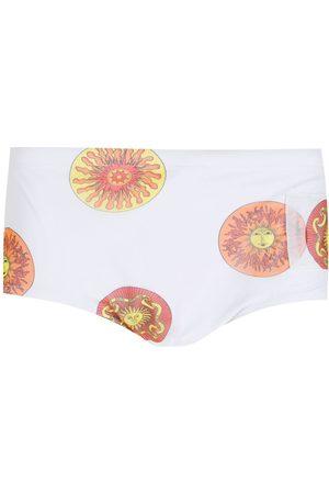 AMIR SLAMA Homme Shorts - Short de bain Sol à motif monogrammé