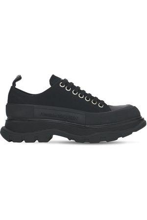 Alexander McQueen Sneakers En Toile De Coton 45 Mm