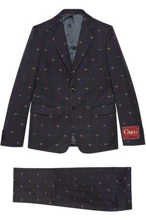 Gucci Costume à motif GG brodé