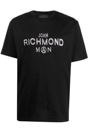 John Richmond T-shirt à logo ornementé