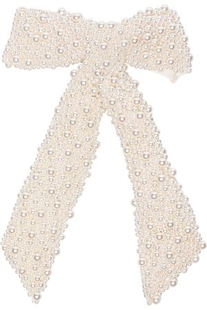 Jennifer Behr Barrette Bailey à nœud orné de perles