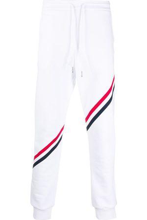 Thom Browne Homme Joggings - Pantalon de jogging à bande tricolore