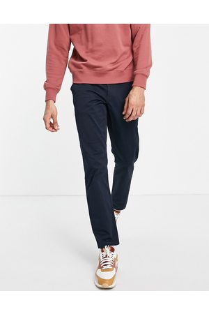 New Look Pantalon slim chino - marine