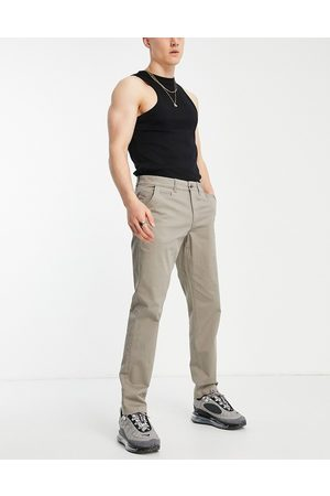 New Look Pantalon chino slim - foncé