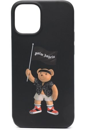 Palm Angels Homme Téléphones - Coque d'iPhone 12 à imprimé ourson
