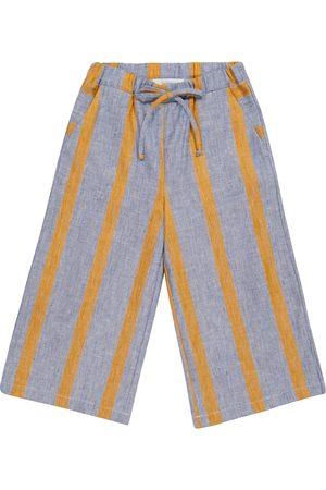 PAADE Pantalon Sasha rayé en lin et coton