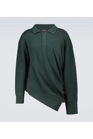 Balenciaga Polo asymétrique en coton