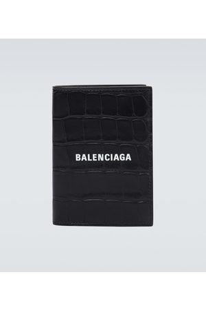 Balenciaga Portefeuille Cash en cuir à logo