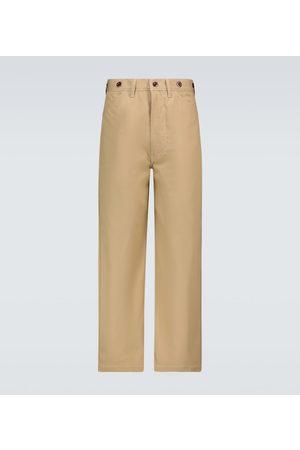 JUNYA WATANABE Pantalon chino ample en coton