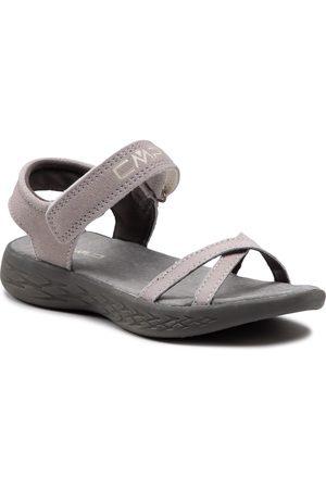 CMP Fille Chaussures de randonnée - Sandales - Kids Hailioth Hiking Sandal 30Q9585 Cemento U716