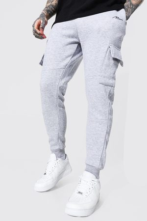 Boohoo Man Signature Panelled Cargo Jogger Homme