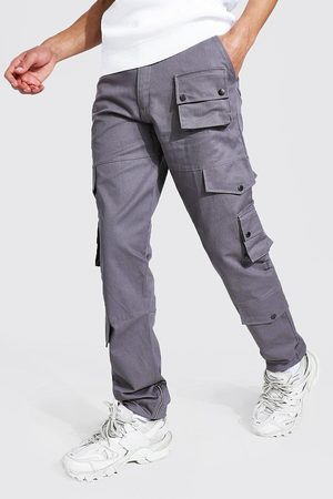 Boohoo Tall Relaxed Fit Twill Cargo Trouser Homme