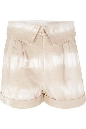 Stella McCartney Short tie-dye Bamboo Safari