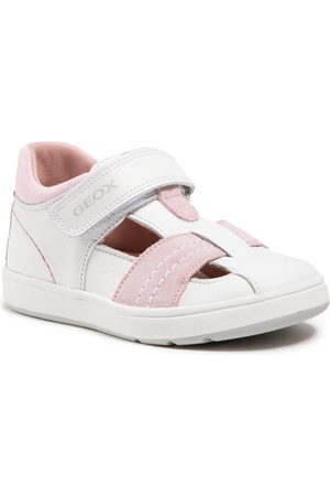 Geox Fille Chaussures basses - Chaussures basses - B Biglia G. D B154CD 08522 C0674 White/Rose