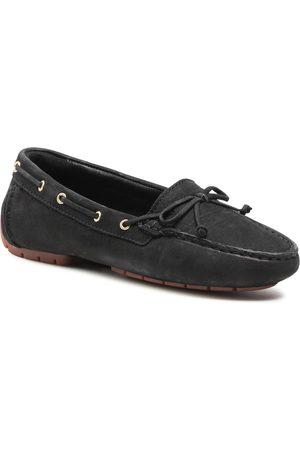 Clarks Femme Mocassins - Mocassins - C Mocc Boat2 261587614 Black Nubuck