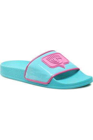 Chiara Ferragni Femme Mules & Sabots - Mules / sandales de bain - CF2811-026 Turquoise