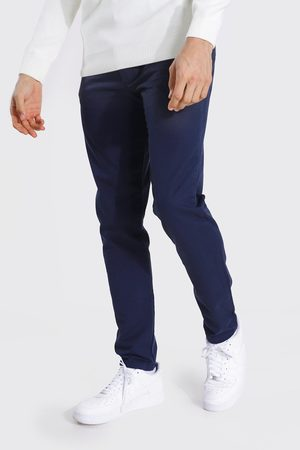 Boohoo Tall Slim Fit Chino Trouser Homme