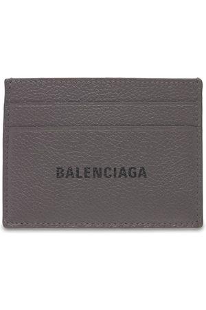 Balenciaga Homme Portefeuilles - Porte-cartes En Cuir Avec Logo