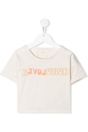 Knot T-shirt R-evolution crop