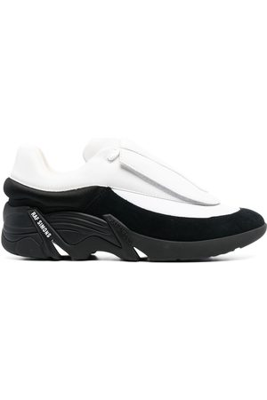 RAF SIMONS Homme Baskets - Antei two-tone low-top sneakers