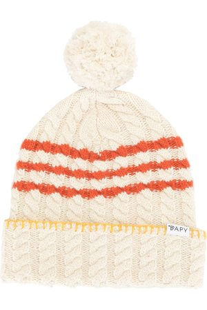 BAPY BY *A BATHING APE® Femme Bonnets - Bonnet en maille torsadée