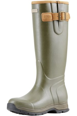 Ariat Femme Bottines - Women's Burford Insulated Boots in Olive Green