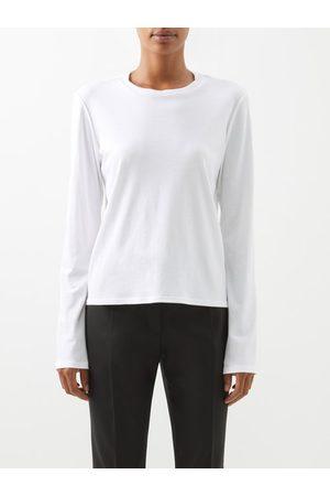 The Row T-shirt manches longues en jersey de coton Sherman