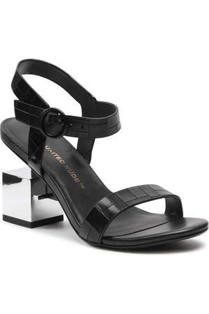united nude Sandales - Cube Sandal Mid 10406676156 Black/Mirror