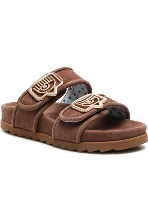 Chiara Ferragni Mules / sandales de bain - CF2816-002 Brown