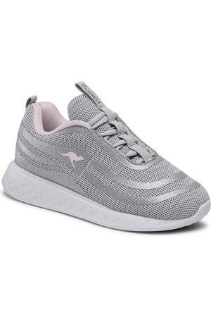 KangaRoos Femme Baskets - Sneakers - K-Act Beam 39199 000 9020 Silver/Frost Pink
