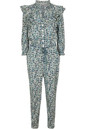 VERONICA BEARD Combi-pantalon Tanay en coton à fleurs