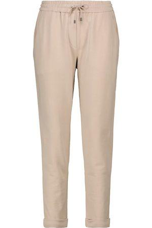 Brunello Cucinelli Pantalon de survêtement en coton