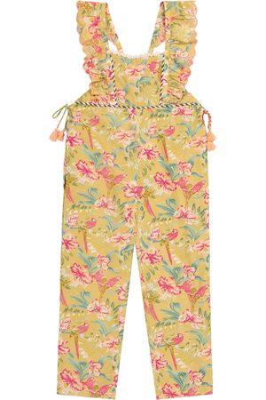 Louise Misha Combi-pantalon Talia en coton à fleurs