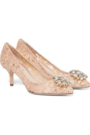 Dolce & Gabbana Escarpins Bellucci en dentelle à ornements