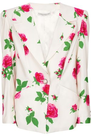 Alessandra Rich Blazer à fleurs