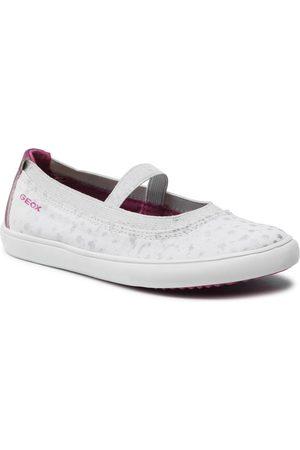Geox Fille Chaussures basses - Chaussures basses - J Gisli G. A J154NA 010HI C0563 S White/Fuchsia