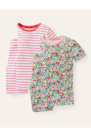 Boden Fille Pyjamas - 2 pyjamas courts MUL Fille Boden