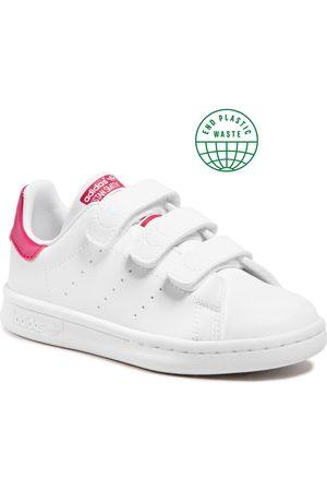 adidas Chaussures - Stan Smith Cf C FX7540 Ftwwht/Ftwwht/Bopink