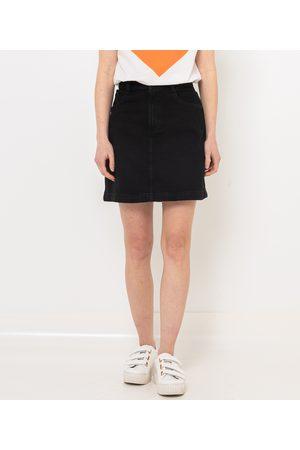 Camaïeu Femme Jupes en jean - Jupe en jean délavé