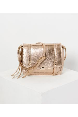 Camaïeu Femme Sacs à dos - Sac cartable doré