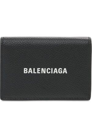 Balenciaga Portefeuille En Cuir Imprimé Logo