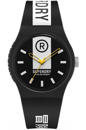 Superdry Homme Montres - Montre Homme Superdry SYG348B - Bracelet Silicone