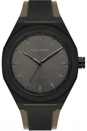Superdry Homme Montres - Montre Homme Superdry SYG349B - Bracelet Silicone