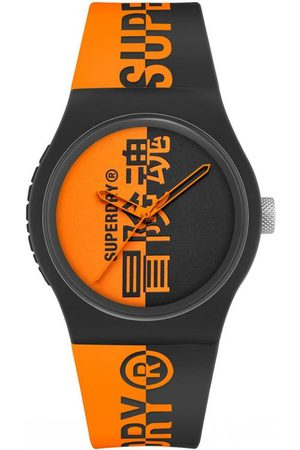 Superdry Homme Montres - Montre Homme Superdry SYG346BO - Bracelet Silicone