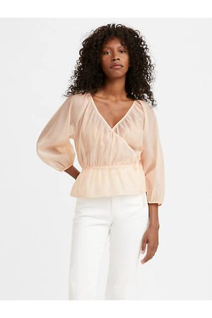 Levi's Delilah Wrap Top / Scallop Shell