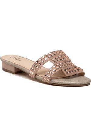 Menbur Femme Mules & Sabots - Mules / sandales de bain - 22439 Nude 0097