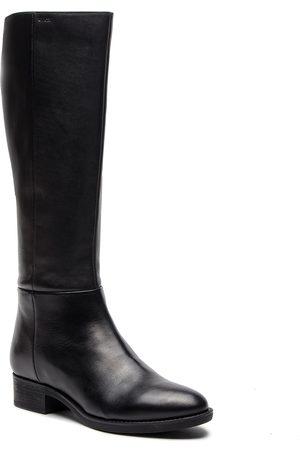 Geox Bottes cavalières - D Felicity D D84G1D 00043 C9999 Black